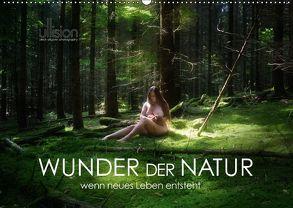 WUNDER DER NATUR – wenn neues Leben entsteht (Wandkalender 2018 DIN A2 quer) von Allgaier (ullision),  Ulrich