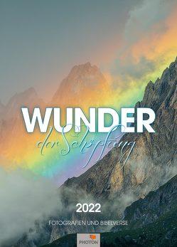 WUNDER DER SCHÖPFUNG Kalender 2022 von Mägli,  Martin, PHOTON Verlag