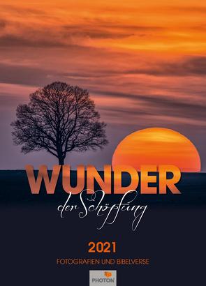WUNDER DER SCHÖPFUNG Kalender 2021 von Mägli,  Martin, PHOTON Verlag