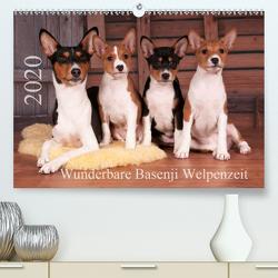 Wunderbare Basenji Welpenzeit (Premium, hochwertiger DIN A2 Wandkalender 2020, Kunstdruck in Hochglanz) von Joswig,  Angelika