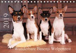 Wunderbare Basenji Welpenzeit (Tischkalender 2019 DIN A5 quer) von Joswig,  Angelika