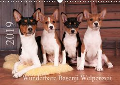 Wunderbare Basenji Welpenzeit (Wandkalender 2019 DIN A3 quer) von Joswig,  Angelika