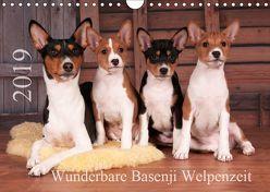 Wunderbare Basenji Welpenzeit (Wandkalender 2019 DIN A4 quer) von Joswig,  Angelika