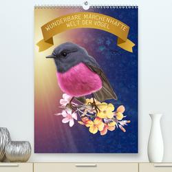 Wunderbare märchenhafte Welt der Vögel (Premium, hochwertiger DIN A2 Wandkalender 2020, Kunstdruck in Hochglanz) von SWITZERLAND,  ©KAVODEDITION