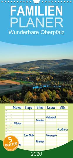 Wunderbare Oberpfalz – Familienplaner hoch (Wandkalender 2020 , 21 cm x 45 cm, hoch) von Just,  Gerald