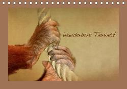 Wunderbare Tierwelt (Tischkalender 2020 DIN A5 quer) von Hultsch,  Heike
