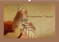 Wunderbare Tierwelt (Wandkalender 2019 DIN A3 quer) von Hultsch,  Heike