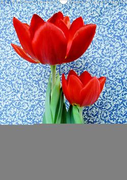 Wunderbare Tulpenwelt (Wandkalender 2019 DIN A3 hoch) von Kruse,  Gisela