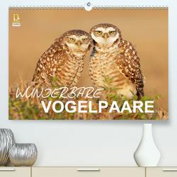 Wunderbare Vogelpaare (Premium, hochwertiger DIN A2 Wandkalender 2020, Kunstdruck in Hochglanz) von birdimagency.com