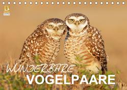 Wunderbare Vogelpaare (Tischkalender 2020 DIN A5 quer) von birdimagency.com