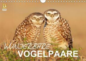 Wunderbare Vogelpaare (Wandkalender 2018 DIN A4 quer) von birdimagency.com