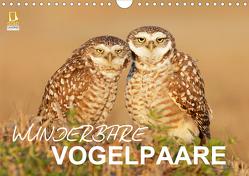 Wunderbare Vogelpaare (Wandkalender 2020 DIN A4 quer) von birdimagency.com