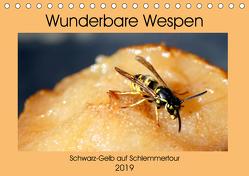 Wunderbare Wespen – Schwarz-Gelb auf Schlemmertour (Tischkalender 2019 DIN A5 quer) von von Loewis of Menar,  Henning