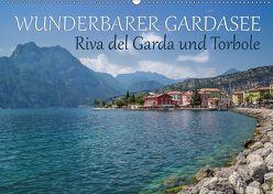 WUNDERBARER GARDASEE Riva del Garda und Torbole (Wandkalender 2019 DIN A2 quer) von Viola,  Melanie