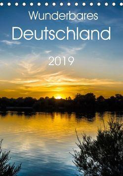 Wunderbares Deutschland (Tischkalender 2019 DIN A5 hoch) von Zwanzger,  Wolfgang