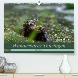 Wunderbares Thüringen – Gewässer (Premium, hochwertiger DIN A2 Wandkalender 2021, Kunstdruck in Hochglanz) von Flori0