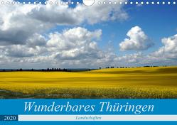 Wunderbares Thüringen – Landschaften (Wandkalender 2020 DIN A4 quer) von Flori0