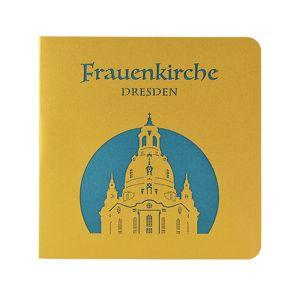 Wunderkarte Dresdner Frauenkirche türkis
