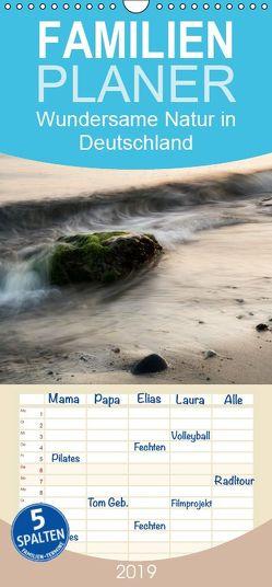 Wundersame Natur in Deutschland – Familienplaner hoch (Wandkalender 2019 , 21 cm x 45 cm, hoch) von Schund,  Rainer