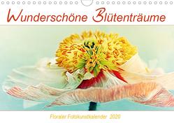 Wunderschöne Blütenträume (Wandkalender 2020 DIN A4 quer) von DESIGN Photo + PhotoArt,  AD, Dölling,  Angela