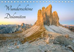 Wunderschöne Dolomiten (Tischkalender 2021 DIN A5 quer) von Valjak,  Michael