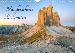 Wunderschöne Dolomiten (Wandkalender 2021 DIN A4 quer) von Valjak,  Michael