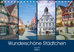 Wunderschöne Städtchen (Tischkalender 2021 DIN A5 quer) von Tetlak,  Andy