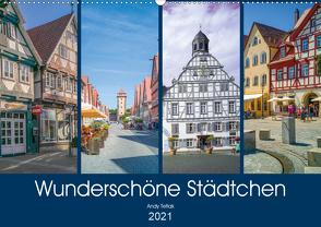 Wunderschöne Städtchen (Wandkalender 2021 DIN A2 quer) von Tetlak,  Andy