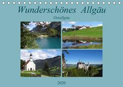 Wunderschönes Allgäu – Ostallgäu (Tischkalender 2020 DIN A5 quer) von Flori0