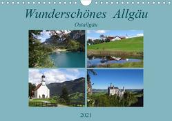 Wunderschönes Allgäu – Ostallgäu (Wandkalender 2021 DIN A4 quer) von Flori0
