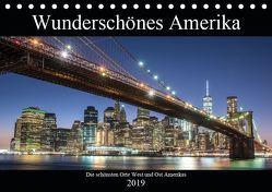 Wunderschönes Amerika (Tischkalender 2019 DIN A5 quer) von - Stefan Schröder,  ST-Fotografie