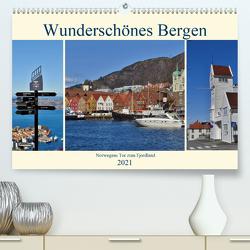 Wunderschönes Bergen. Norwegens Tor zum Fjordland (Premium, hochwertiger DIN A2 Wandkalender 2021, Kunstdruck in Hochglanz) von Schaack,  René