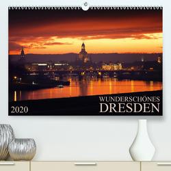 Wunderschönes Dresden (Premium, hochwertiger DIN A2 Wandkalender 2020, Kunstdruck in Hochglanz) von Meutzner,  Dirk