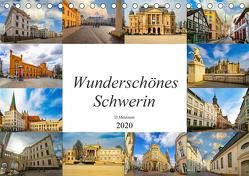 Wunderschönes Schwerin (Tischkalender 2020 DIN A5 quer) von Meutzner,  Dirk
