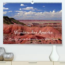 Wundervolles Amerika (Premium, hochwertiger DIN A2 Wandkalender 2020, Kunstdruck in Hochglanz) von by Sylvia Seibl,  CrystalLights