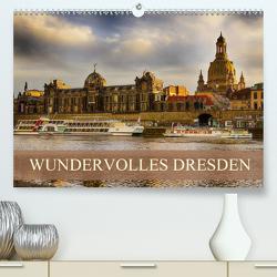 WUNDERVOLLES DRESDEN (Premium, hochwertiger DIN A2 Wandkalender 2020, Kunstdruck in Hochglanz) von Meutzner,  Dirk