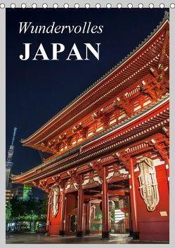 Wundervolles Japan (Tischkalender 2019 DIN A5 hoch) von Stanzer,  Elisabeth