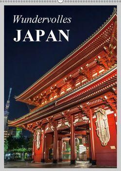 Wundervolles Japan (Wandkalender 2019 DIN A2 hoch) von Stanzer,  Elisabeth