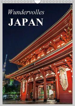 Wundervolles Japan (Wandkalender 2019 DIN A4 hoch) von Stanzer,  Elisabeth