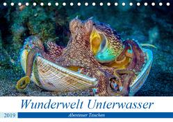 Wunderwelt Unterwasser (Tischkalender 2019 DIN A5 quer) von Gödecke,  Dieter