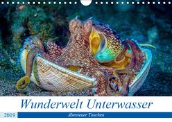 Wunderwelt Unterwasser (Wandkalender 2019 DIN A4 quer) von Gödecke,  Dieter
