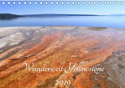 Wunderwelt Yellowstone 2019 (Tischkalender 2019 DIN A5 quer) von Anders,  Holm