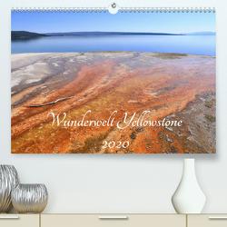 Wunderwelt Yellowstone 2020 (Premium, hochwertiger DIN A2 Wandkalender 2020, Kunstdruck in Hochglanz) von Anders,  Holm