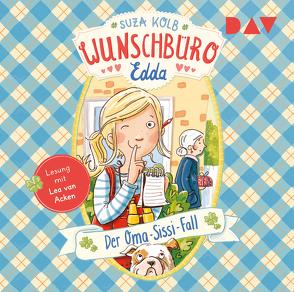 Wunschbüro Edda – Teil 2: Der Oma-Sissi-Fall von Acken,  Lea van, Kolb,  Suza, Kunkel,  Daniela, Stricker,  Sven