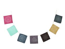 Wunschfähnchen aus Baumwolle von Koperberg Arts & Crafts