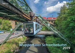 Wuppertal Schwebebahn 2019 Bildkalender A3 Spiralbindung von Klaes,  Holger