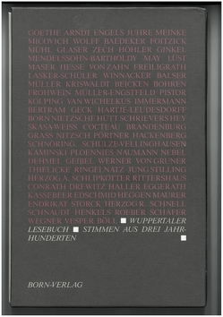 Wuppertaler Lesebuch von Schnöring,  Kurt