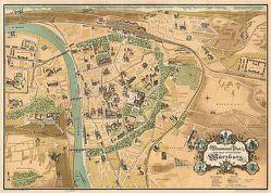 WÜRZBURG um 1900 – Ein historischer Stadtplan