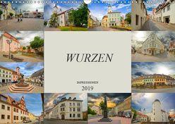 Wurzen Impressionen (Wandkalender 2019 DIN A3 quer) von Meutzner,  Dirk