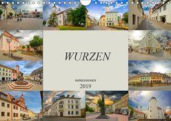 Wurzen Impressionen (Wandkalender 2019 DIN A4 quer) von Meutzner,  Dirk